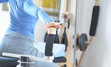 Gyrotonic & Gyrokinesis permettono di liberare le articolazioni, allungare e rinforzare i muscoli, aumentare la flessibilità della colonna vertebrale.